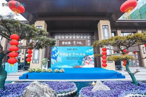 碧桂园青城实景图1