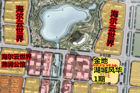 济南金地湖城风华区域位置图1