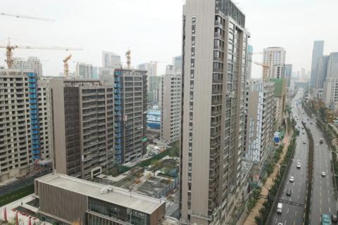 济南仁恒奥体公园世纪现场图1