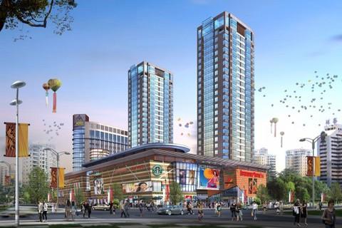 路港商业广场效果图2