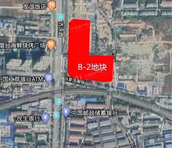 济南绿地新里璞园区域位置图1