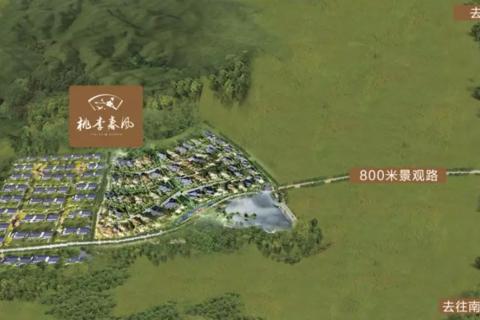 济南历城桃李春风区域位置图1
