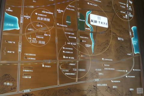 济南龙湖景粼原著区位交通图1