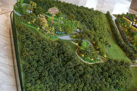 济南龙湖景粼原著现场图3