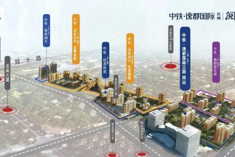 济南中铁逸都国际区位图2