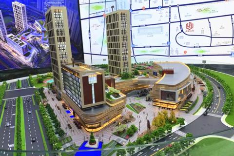 济南泰禾广场区实景图1