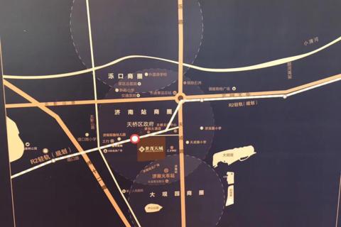 济南世茂天悦公寓区位图1