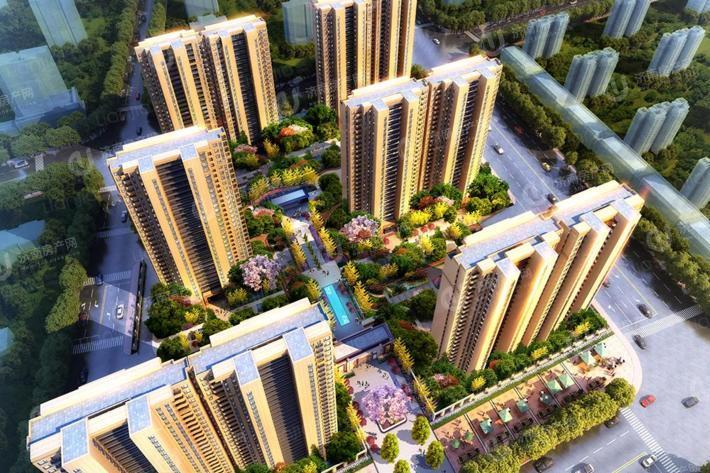 济南市中区绿地新里城效果图1