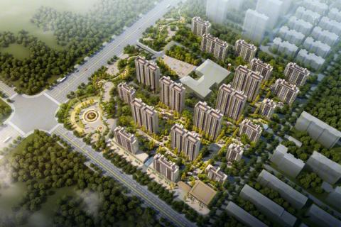 济南市章丘区中铁·锦悦名筑效果图1