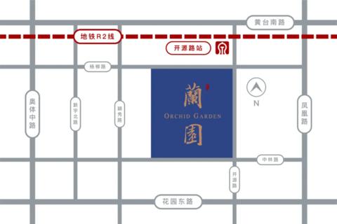 济南历下区济南绿城蘭园位置区域图2