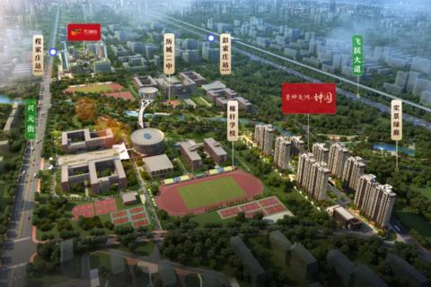 济南市历城区鲁坤天鸿·坤园区域位置图2