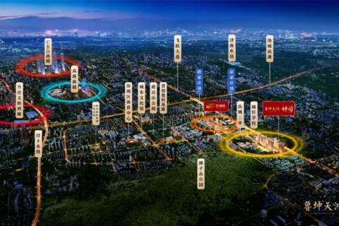 济南市历城区鲁坤天鸿·坤园区域位置图1