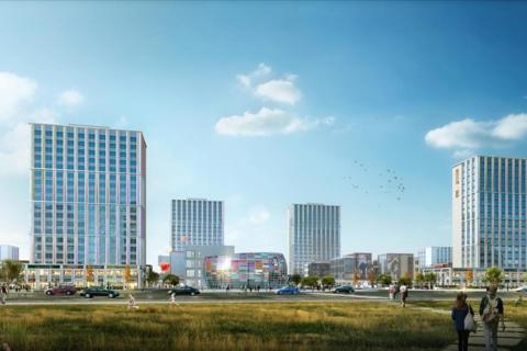济南市历城区鲁坤天鸿·创谷效果图1