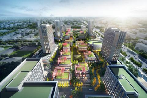 济南市历城区鲁坤天鸿·创谷效果图2
