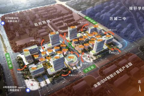 济南市历城区鲁坤天鸿·创谷配套图1