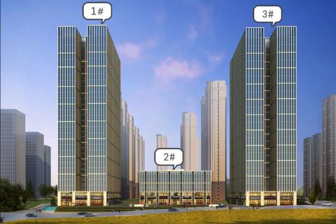 济南市历下区路劲中和广场效果图1