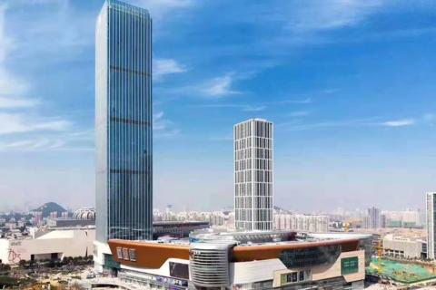 济南市历下区路劲中和广场效果图3