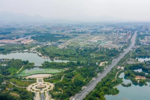 济南市章丘区国欣颐养生态城实景图3