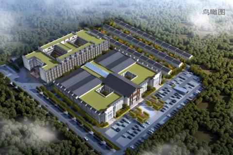 济南市章丘区国欣颐养生态城效果图1