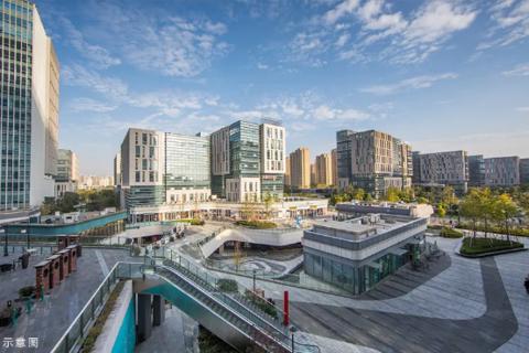 济南市高新区烯谷国际中心效果图2