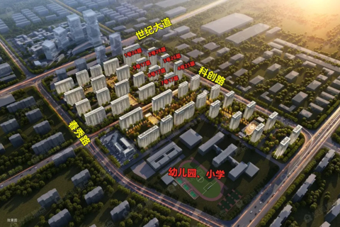 济南市高新区烯谷国际中心区域位置图1