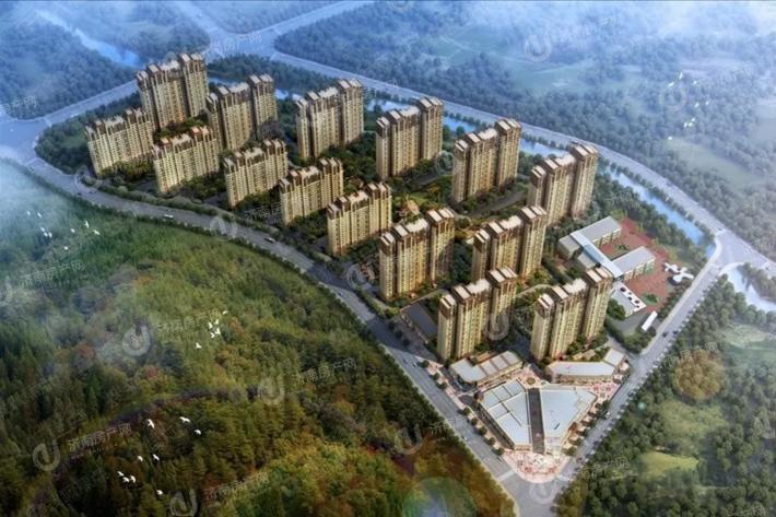 济南市市中区鲁能领秀城麓系洋房效果图2