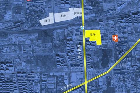 济南市历城区远洋凤栖翰林区位图3