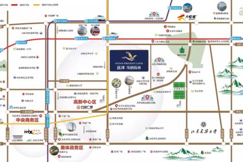 济南市历城区远洋凤栖翰林区位图4