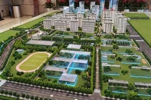 济南市高新区烯谷国际中心项目现场图5
