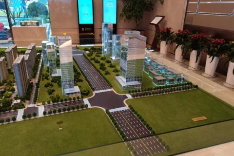 济南市高新区烯谷国际中心项目现场图3