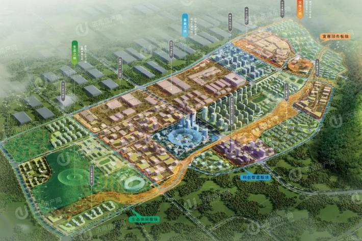 济南市高新区烯谷国际中心区域位置图4