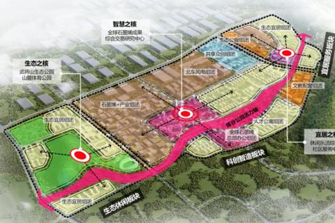 济南市高新区烯谷国际中心区域位置图3