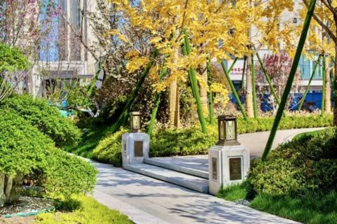 济南市历下区绿地海珀云庭实景图1
