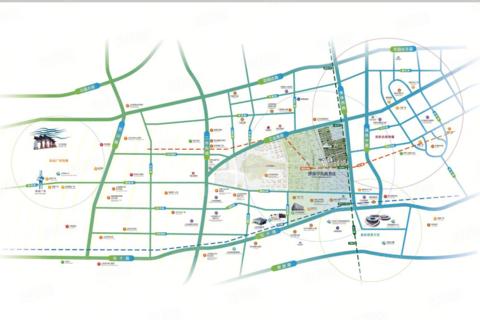 济南市历下区绿地海珀云庭区域位置图1