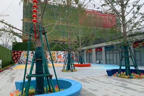 济南中铁城实景图