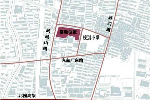 济南天桥区万科繁荣里区域位置图1