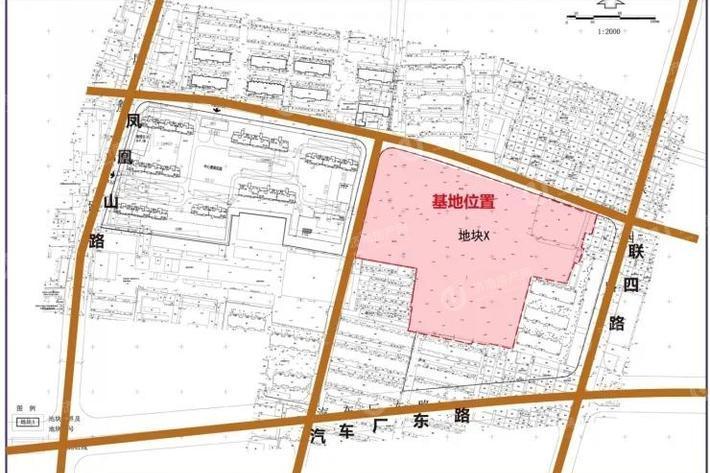 济南天桥区万科繁荣里区域位置图3