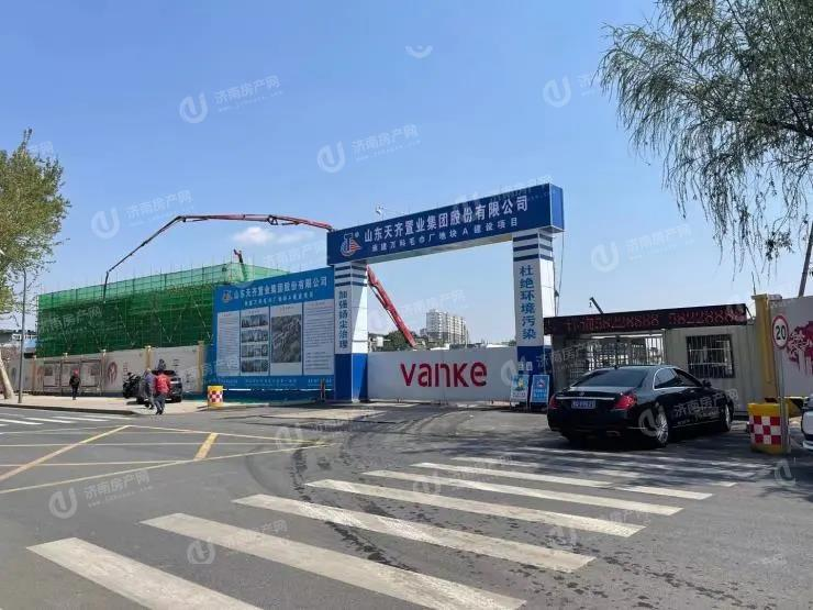 济南天桥区万科繁荣里区域实景图2