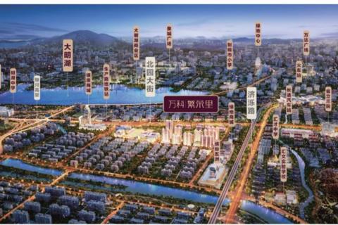 济南天桥区万科繁荣里区域位置图4