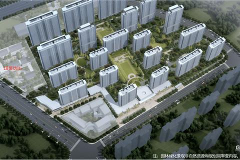 金科连城博翠明湖鸟瞰图1