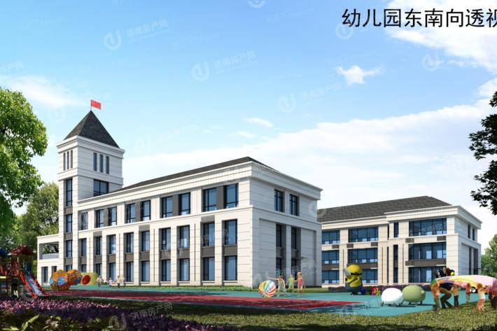 济南市章丘区中康清照蘭庭配套图1幼儿园
