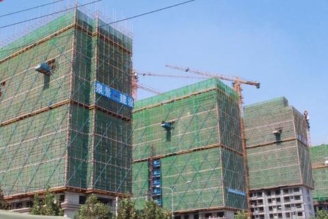 楼栋施工实景图