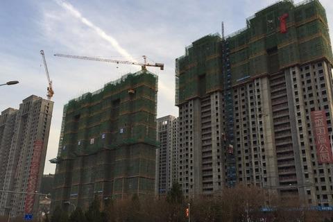 三盛国际公园一期实景(2016-11-24)