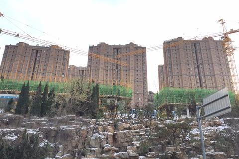 三盛国际公园二期实景(2016-11-24)