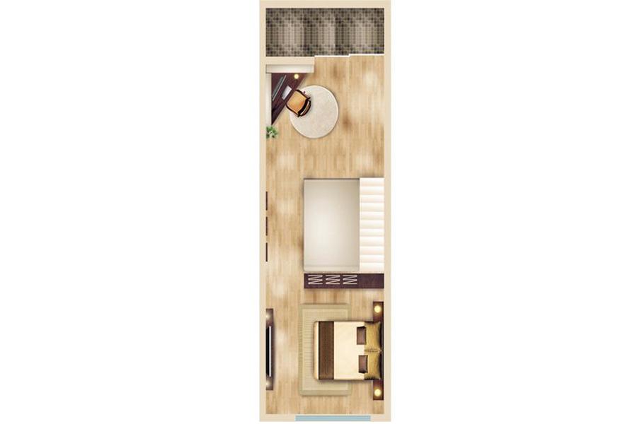 1#2#3#4#楼标准层户型40平米