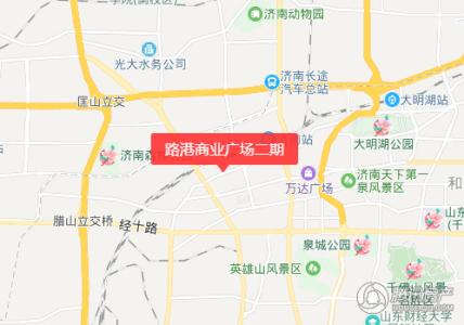 路港商业广场交通图