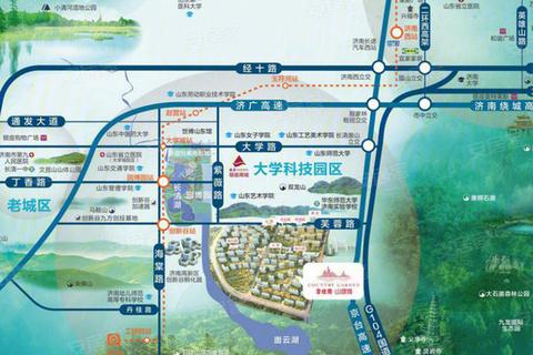 碧桂园山湖城位置区域图2