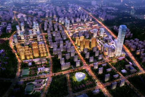 济南市中万科山望效果图2