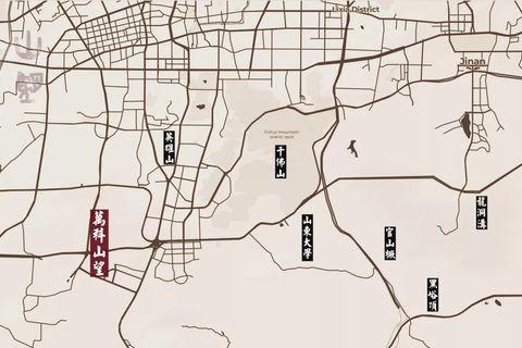 济南万科山望位置区域图2