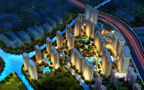 济南中铁城效果图1